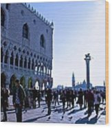 Doge's Palace Wood Print