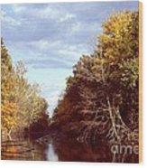Dogleg Lake Wood Print