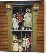 Dollhouse Gothic Wood Print