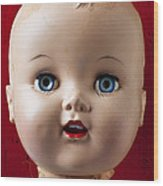 Dolls Haed Wood Print