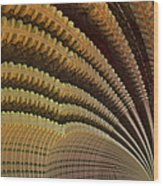 Dolomitic Fern.  Wood Print by Tautvydas Davainis