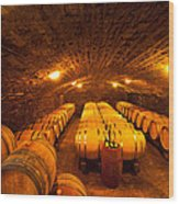 Domaine Pinquier-burgundy France Wood Print