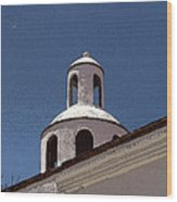Dome And Cloud Mineral De Pozos Mexico Wood Print