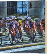 Dominguez Hill Bikes Wood Print