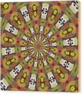 Dominoes Wood Print