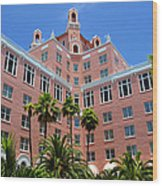 Don Cesar And Palms Wood Print