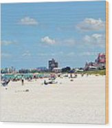 Don Cesar Resort And Pass-a-grille Beach Wood Print