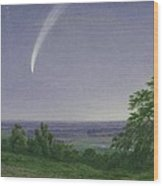 Donati's Comet - Oxford Wood Print