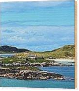 Donegal Coastline Near Bunbeg,co Wood Print