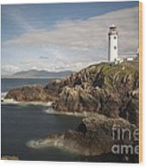 Donegal Lighthouse Wood Print