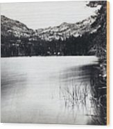 Donner Lake And Pass - California - C 1865 Wood Print