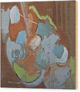 Dont Fret Wood Print by Jay Manne-Crusoe