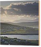 Dooagh, Achill Island, Co Mayo, Ireland Wood Print