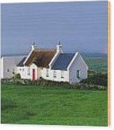 Doolin, Co Clare, Ireland Renovated Wood Print
