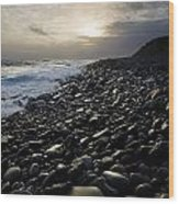 Doolin, County Clare, Ireland Pebble Wood Print