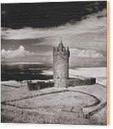 Doonagore Tower Wood Print