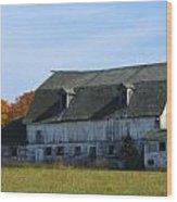 Door County Barn Wood Print
