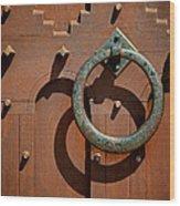 Door Detail Wood Print by Odd Jeppesen
