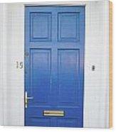 Door In Ireland 4 Wood Print