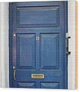 Door In Ireland 6 Wood Print
