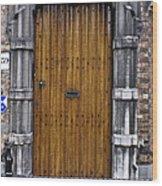 Door Number 59 Wood Print
