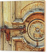Door Study Taos New Mexico Wood Print