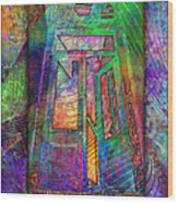 Door To The Lightness Of Being Wood Print
