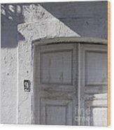 Doors Number 9 Wood Print
