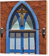 Doors To San Rafael Wood Print