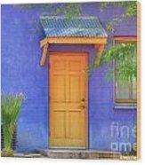 Doorway 4 Wood Print