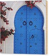 Doorway In Tunisia 1 Wood Print