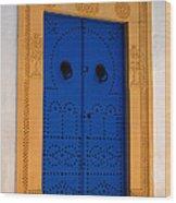 Doorway In Tunisia 2 Wood Print