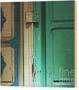 Doorway In Tunisia 4 Wood Print