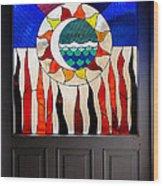 Doorway Of Choice Wood Print