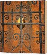 Doorway To Death Wood Print by Paul Ward