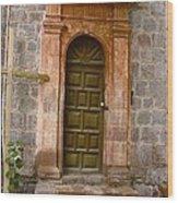 Doorway To... Wood Print