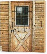 Doorway To Yesterday Wood Print