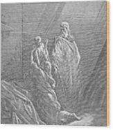 Dor�: Elijah & Widows Son Wood Print