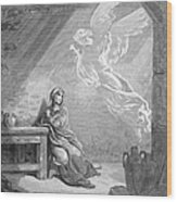 Dor�: The Annunciation Wood Print