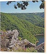 Dordogne Valley Wood Print