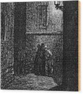 Dore: London, 1872 Wood Print