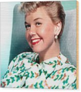 Doris Day, Warner Brothers, 1950s Wood Print