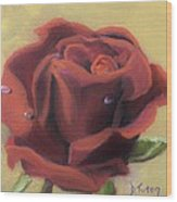 Doris's Rose Wood Print