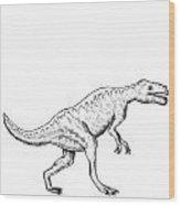 Dorkosaurus - Dinosaur Wood Print