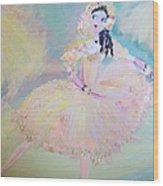 Dorothy Dancer Wood Print