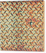 Dot Wood Print