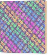 Dotted Check Wood Print