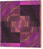 Double Rainbow Eddy Wood Print