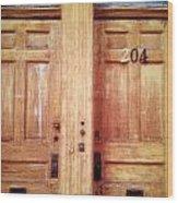 Doubledoor Wood Print