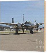 Douglas A26b Military Aircraft 7d15739 Wood Print